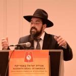 Harav-Moshe-Aron-Friedman,-RM-Yeshivas-Mir-Yerusholayim-giving-Shiur-Iyun